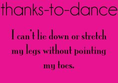 another pointing the toes thing haha #dance