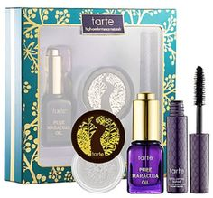 Tarte High Performance Naturals Set:Pure maracuja oil, Finishing Powder and Finishing Powder Add it to your wishlist at yourwishfromme.com