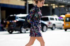 The Best Street Style at New York Fashion Week  - ELLE.com
