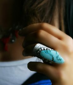 Oceanworld - Turquoise Sterling Silver Ring