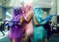 Wookiee girls