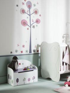 M s de 1000 ideas sobre habitaci n beb ni a en pinterest for Pegatinas habitacion nino