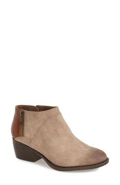 Free shipping and returns on BC Footwear 'Union' Bootie (Women) at Nordstrom.com. A multitextured bootie with cool, subtle burnished detailing and decorative stitching is grounded by a low, textured heel.