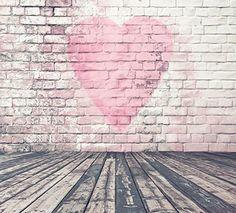 6.5ft(h)*5ft(w) Pink Heart in Pink Brick Wall Photography... https://www.amazon.com/dp/B01GOV62C8/ref=cm_sw_r_pi_dp_x_3X3Ayb8MSA9JR