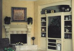 recessed built-ins for TV - Bing Images