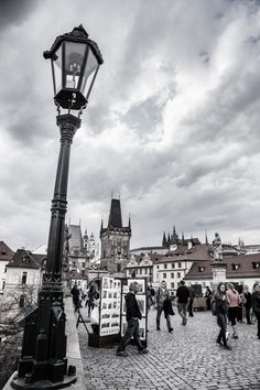 walk across Charles bridge