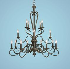 Foyer Lighting Large Chandeliers-Candle