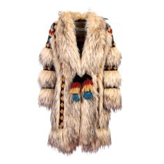 Browse Faux Fur Knit Coat Prince and more from The Extreme Collection at Wolf & Badger - the leading destination for independent designer fashion, jewellery and homewares. Casual Fashion Trends, Boho Fashion, Mens Fashion, Spanish Fashion, Knitted Coat, Native American Fashion, Classy Women, Slow Fashion, Winter Collection
