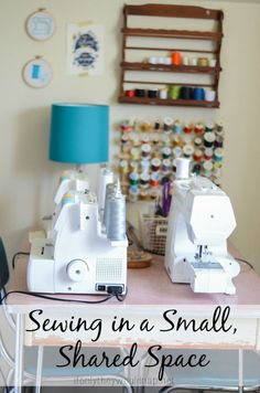 Sewing Room Inspiration for Small Spaces - The Daily Seam