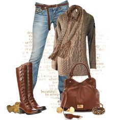 Fall Outfits | Beautiful in Brown | Fashionista Trends