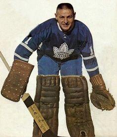 Terry Sawchuk - Toronto - 1964-65 Women's Hockey, Hockey Players, Hockey Cards, Baseball, Nhl, Maple Leafs Hockey, Hockey Pictures, Goalie Mask, Good Old Times