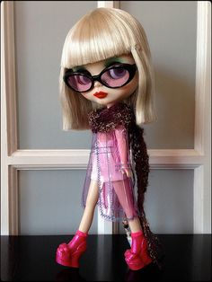 """Introducing my first """"Factory Blythe""""...Marley Rayne by SublimeBlythe 