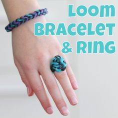 Rainbow Loom: Fishtails and Rings