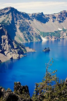 Crater Lake National Park, Oregon.  Go to www.YourTravelVideos.com or just click on photo for home videos and much more on sites like this.