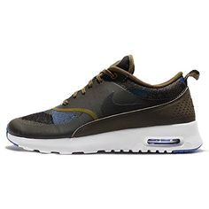 purchase cheap 94b92 eea7d Nike Womens Wmns Air Max Thea JCRD OLIVE FLAKBLACKDARK LODENGAME ROYAL 8 US  -- Click