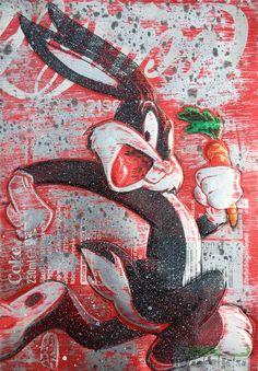Graffiti Wall Art, Graffiti Painting, Street Art Graffiti, Pop Art Drawing, Art Pop, Disney Minimalist, Cute Cartoon Wallpapers, Sign Printing, Recycled Art