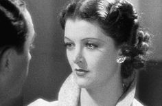 """Happy Birthday Myrna Loy (August 2, 1905 – December 14, 1993) """"How many women do we know who were continually kissed by Clark Gable, William Powell, Cary Grant, Spencer Tracy and Fredric March? Only one: Myrna Loy… And to meet whom did Franklin D. Roosevelt find himself tempted to call off the Yalta Conference? Myrna Loy. And to see what lady in what picture did John Dillinger risk coming out of hiding to meet his bullet-ridden death in an alley in Chicago? Myrna Loy, in Manhattan Melodrama."""" Lauren Bacall"""