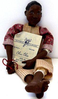 Daddys Long Legs Doll CHOO CHOO KVK INC 1991 Collector Doll Collectible Doll NIB