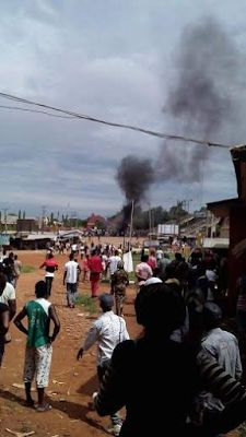 Hi! It's Hyrish Blog: Photos: Students riot at Federal Polytechnic Auchi...
