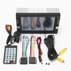 72.19$  Watch here - http://aliknk.worldwells.pw/go.php?t=32774000789 - 6.6 Inch HD 2 Din MP3 MP4 Player Touch Screen Car FM Radio Stereo Bluetooth +Rear Camera 2 USB Port 72.19$