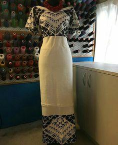 Samoa Island Wear, Island Outfit, Samoan Dress, Island Style Clothing, Traditional Skirts, Polynesian Designs, Ethnic Dress, Different Dresses, Dress Patterns