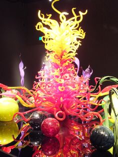 Dale Chihuly Glass Museum in Seattle