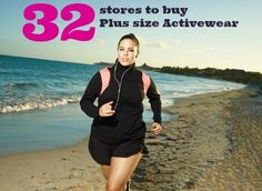 32 Sources for Plus Size Activewear - Fortsatta