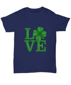 Patricks Day St Jeweled Shamrock Forest Green Adult Sweatshirt