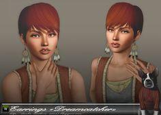 "Dasha Kirilova: Earrings ""Dreamcatcher"" ^O^"