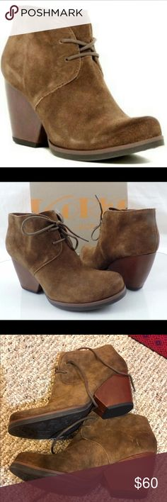 Korks booties Brand new never worn super cute and comfortable, purchased at Nordstrom rack for $78 never worn. korks Shoes Ankle Boots & Booties