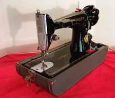 Singer 201, considered by many to be the best home sewing machine ever made.