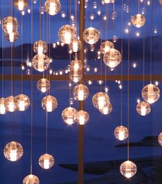 Glass Ball Chandeliers and Interior Lighting from Asco Lights, Manchester, Cheshire, London