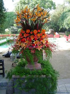 Tall Flower Arrangements | Tall flower arrangements for special events & weddings. | FLORIST ...