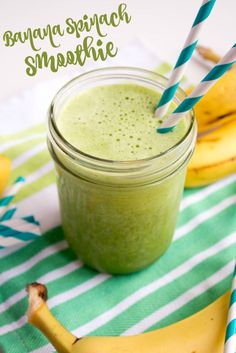 Banana Spinach Smoot