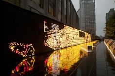 IBM's Interactive THINK Exhibit Uses Real Time Data to Measure NYC's Traffic, Air Quality & More