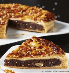 Galette des rois frangipane au chocolat et nougatine - les meilleures recettes de cuisine d'Ôdélices