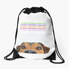 Cotton Tote Bags, Drawstring Backpack, Chiffon Tops, Classic T Shirts, Fat, Printed, Awesome, Dogs, People
