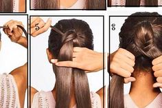 Mit diesen 14 Frisuren liegt dir die Männerwelt zu Füßen. Nr 7 ist entzückend. Dreadlocks, Hair Styles, Fashion, Ponytail, Quick Hairstyles, Hair And Beauty, Hairstyle Ideas, Loosing Weight, Tips