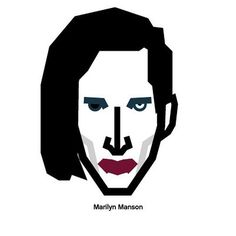 #Singer #marilyn #manson #demon #rock #character #design  #마릴린맨슨