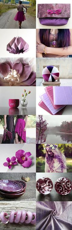 May Your New Year Be Radiant! #RadiantOrchid #Pantone #ColorOfTheYear #Purple  by Andrea Hurley on Etsy