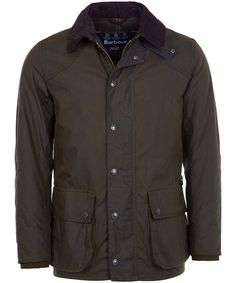 The Men's Barbour Digby Wax Jacket gives you a smart and clean look this season, featuring a number of subtle details which add to the style and wearability of this jacket. This jacket features the Barbour classic tartan detailing with the classic tartan waxed trims to the collar, pockets and elbow patches for added wearability. The storm flap featuring Barbour branded poppers and the 6oz sykoil wax finish also provides you with a weatherproof finish for added protection from the ever…