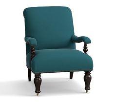 Harlan Upholstered Slipper Chair, Polyester Wrapped Cushions, Vintage Velvet Bali