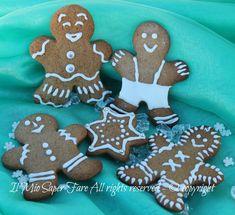 Biscotti di pan di zenzero Gingerbread il mio saper fare