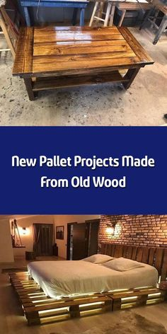 Here come the new pallet projects made from old wood which are amazingly adorable. These new pallet projects aimto boost the elegance of your home. Trendy Furniture, Sofa Furniture, Pallet Furniture, Furniture Ideas, Pallet Wall Decor, Pallet Bench, Old Wood, Pallet Projects, Table And Chairs