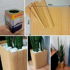 Transformação de uma lata de tinta em um vaso chic estiloso - Silvia (Sil) - Google+
