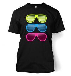Three Shutter Glasses mens t-shirt - Fashion Mens T-shirts