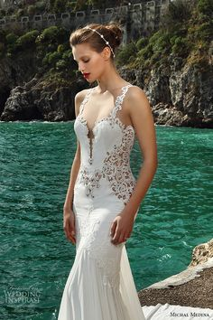 Michal Medina #Bridal Spring 2016 #Couture #Wedding Dresses | Wedding Inspirasi #weddings #weddinggown #weddingdress