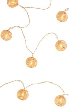 Ball Lights, Primark, Light Up, Gold Necklace, How To Make, Color, Jewelry, Rooms, Interiors