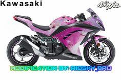 Kawasaki Ninja 250fi Theme Pinky😅