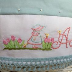 Hand embroidered details!!! What fun!